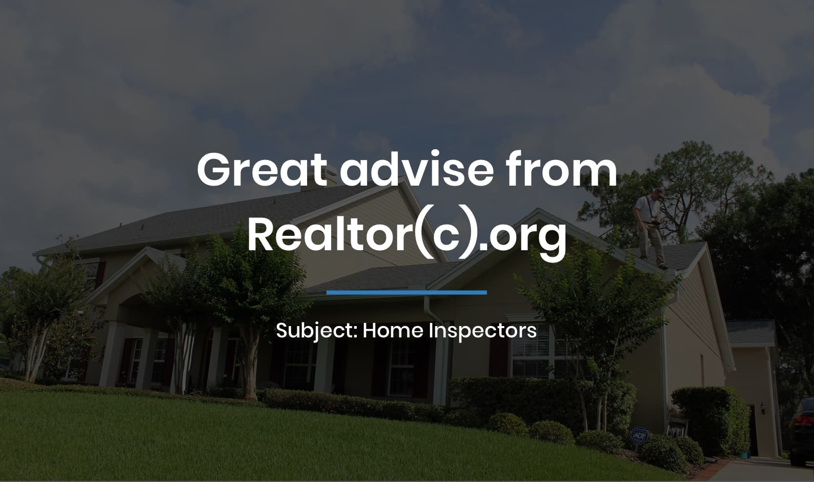 Great advise from Realtor(c).org