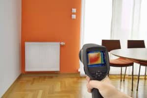 thermal imaging inspection in the home