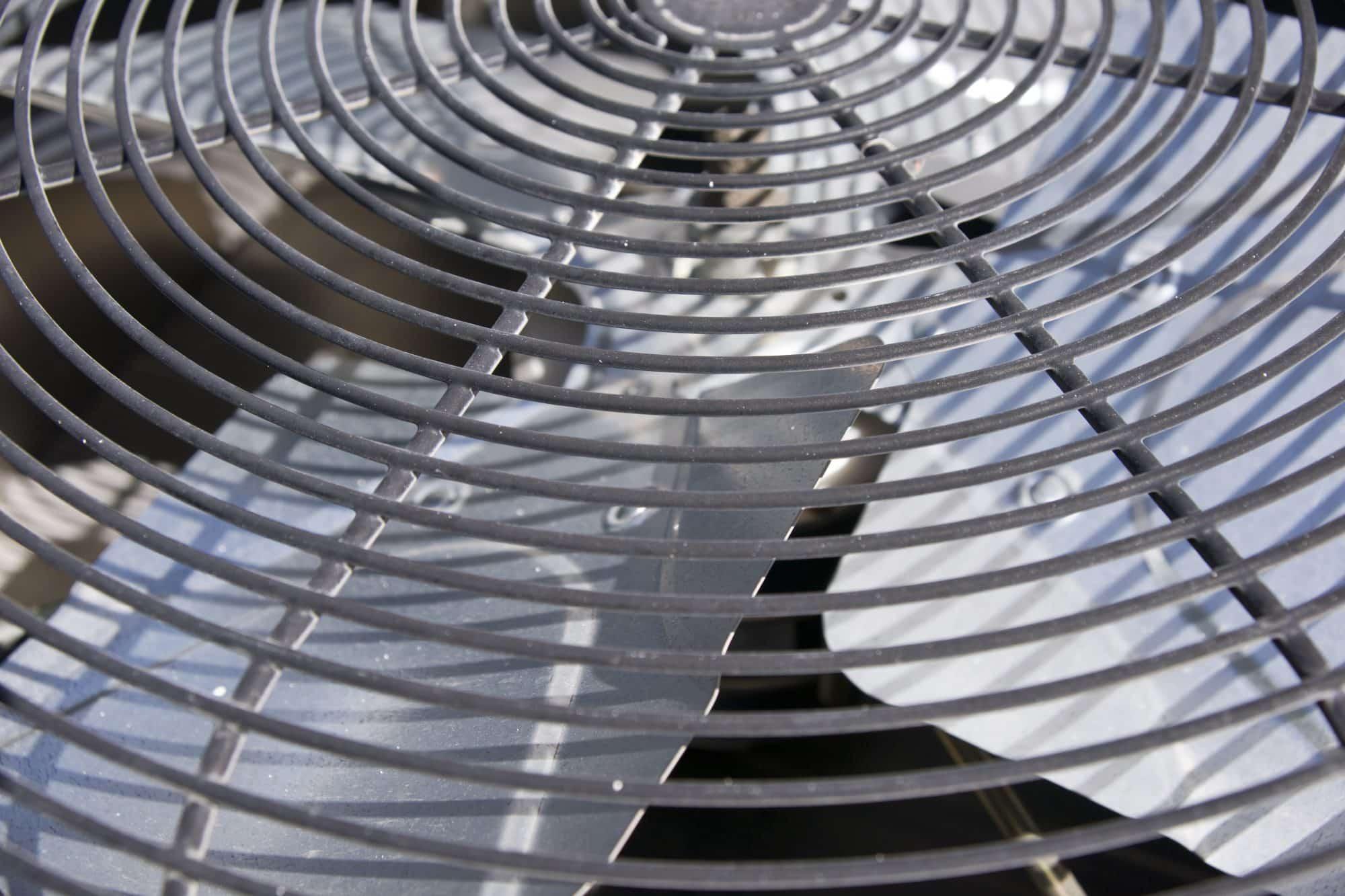 HVAC cooling fan