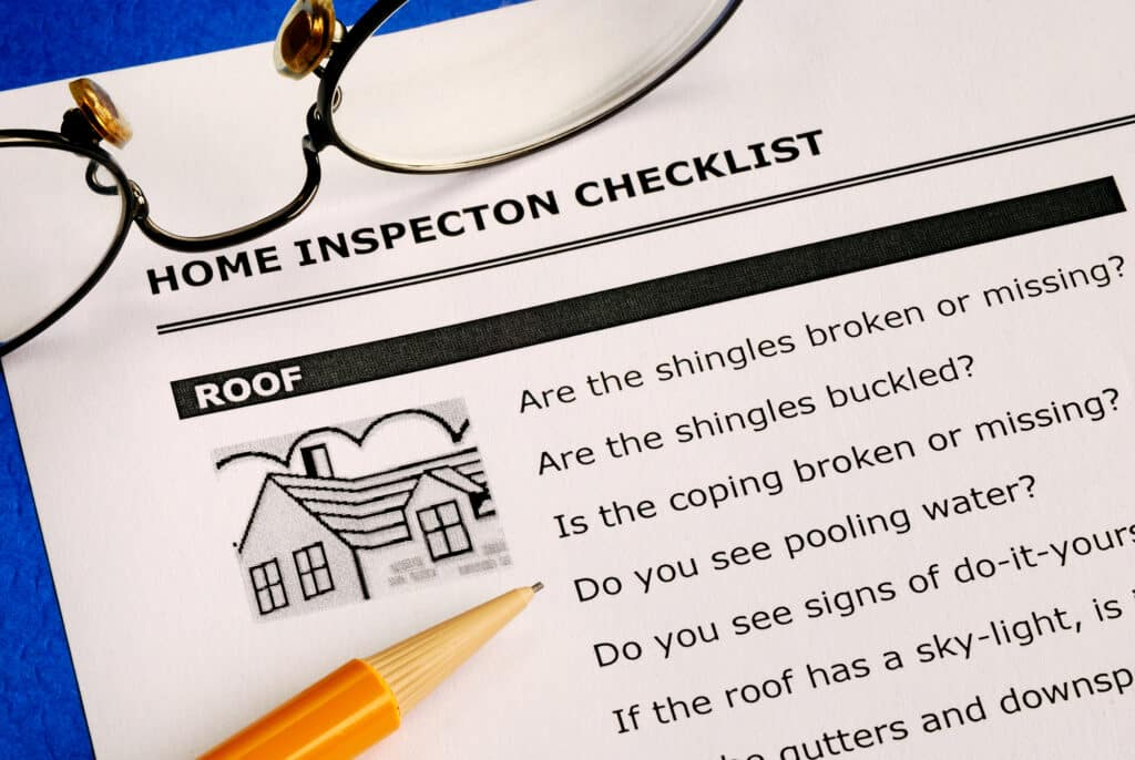 Don't expect a perfect inspection report.